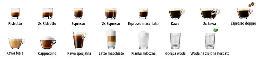 JURA E8 specjały kawowe